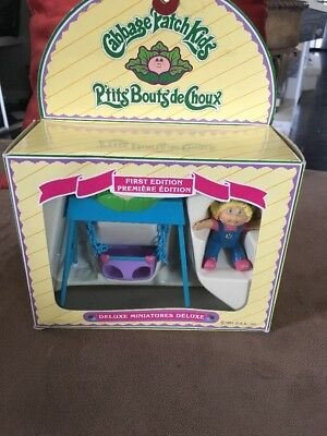 Cabbage Patch Miniatures Deluxe First Edition