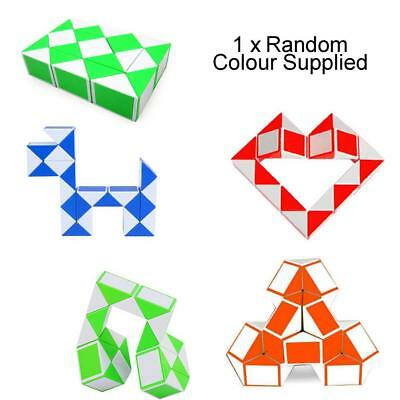 3D Cube Snake Puzzle Toy Game - Fidget Fingers - Focus ADHD