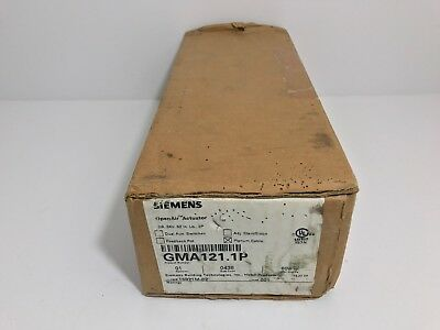 New! Siemens Open Air Actuator Gma121.1P