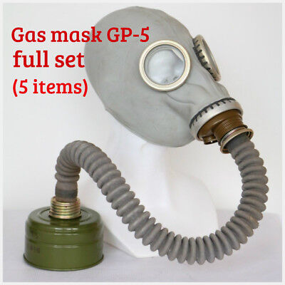 Genuine Russian GP5 Gas Mask. Only GP-5 Mask New. All sizes