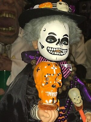 Halloween 2ft Animated Custom Made (Voodoo Boy Witch Doctor) (A Sissy Creation)