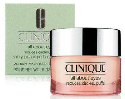 Clinique All About Eyes 15ml Full Size Brand New & Boxed *FAST POST* rrp. £27