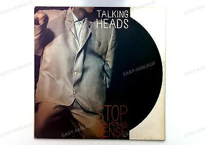 Talking Heads - Stop Making Sense Europe LP 1984 + Innerbag, Insert //22