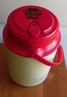 Pizza Hut 2 Quart Insulated Thermos Red & White Gott Brand
