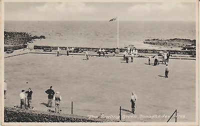Donaghadee -The  Bowling Green --  Real Photo - Postcard #