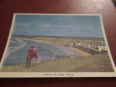 1963 Postcard Lahinch Co. Clare Ireland