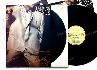 Talking Heads - Stop Making Sense GER LP 1984 + Innerbag, Insert //21