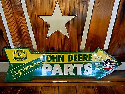 John Deere Buy Genuine Parts Decorative Tin Sign Advertising Brand New Made USA