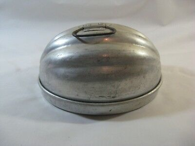Vtg. Wear-Ever Aluminum Metal Covered Camping Outdoors Cookware Dish