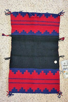 Childs Navajo BEALE TRADITIONAL DOUBLE PANEL RUG DRESS Cleaned & Moth Proofed!