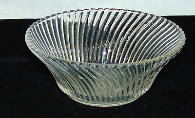"Federal DIANA CRYSTAL *5"" CEREAL BOWL*"