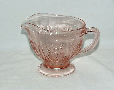 Federal SHARON/CABBAGE ROSE PINK *CREAMER*