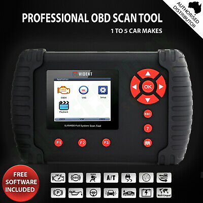 iLink400 OBD1 OBD2 Scan Tool For All System Engine ABS Airbag w/ OIL Service EPB