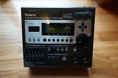 Roland TD-12 Electronic V Drum Sound Module – Mint Condition