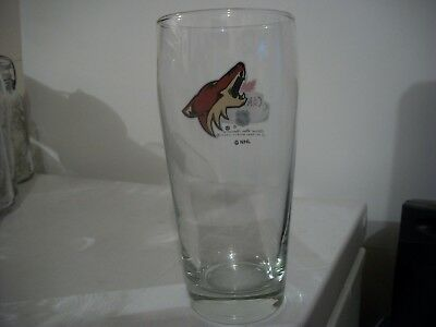 Molson Canadian- Nhl- Phoenix Coyotes- Beer Glass