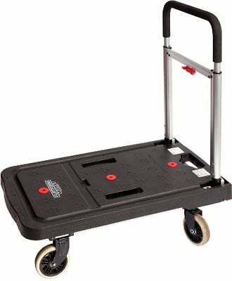 Magna Cart Flatform Four Rubber Wheel Folding Platform Truck 300 lb Capacity