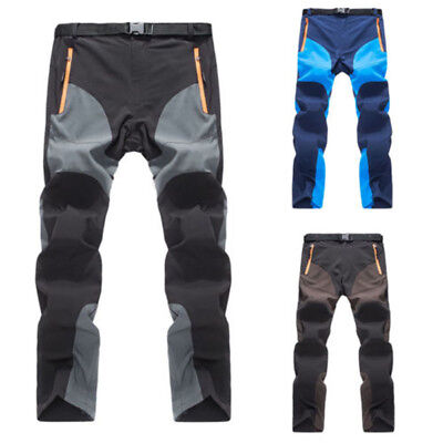 Outdoor Mens Trousers Quick-drying Pants Thin Sports Elastic Pants Breathable