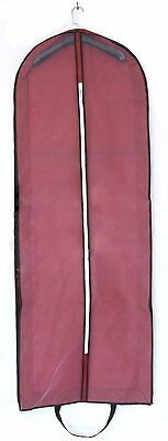 AliceHouse X-large Breathable Wedding Gown Dress Garment Bag Hanging and Carryin