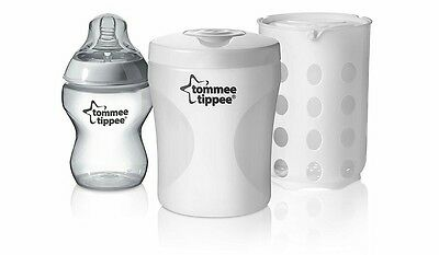 Tommee Tippee Closer to Nature Single Baby Bottle Travel Steriliser