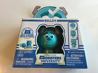 Disney Pixar Monsters University Roll-A-Scare Sulley Spin Master NIP