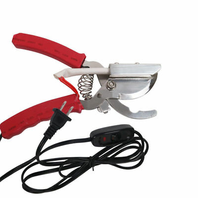Electro-thermal Heating Shear Clamp Cutter Pliers Tail For Piglets Cutting Tail