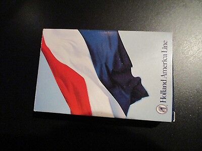 new HOLLAND AMERICA Cruise Line playing cards deck DUTCH FLAG design