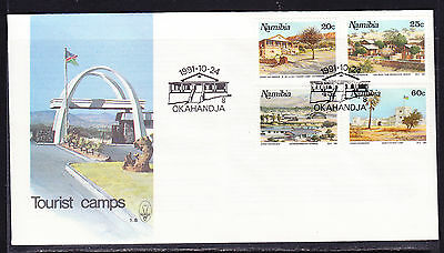 Namibia 1991 Tourist Camps First Day Cover - Unaddressed