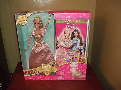 Barbie Fairytale Collection & Dvd From Her First Movie Musica 2004 - New In  Box