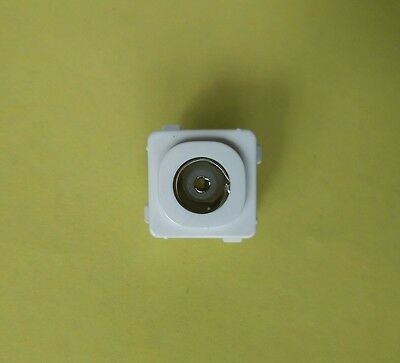 clipsal tv wall plate coaxial cable TV antenna socket insert