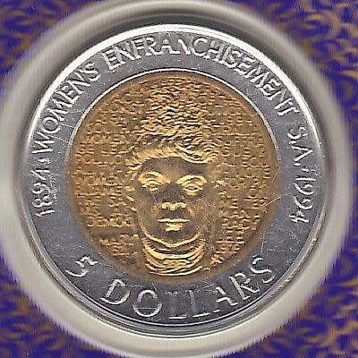 1994 (Unc) Australian $5 Five Dollar Coin (Centenary Of Womens Vote) - On Card