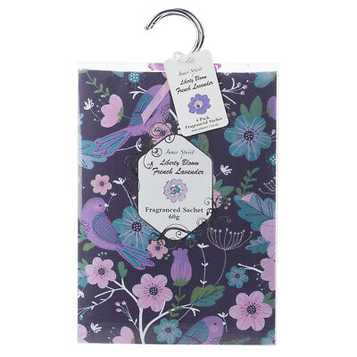 NEW Pilbeam French Lavender Scented Wardrobe Sachet Set 4pce