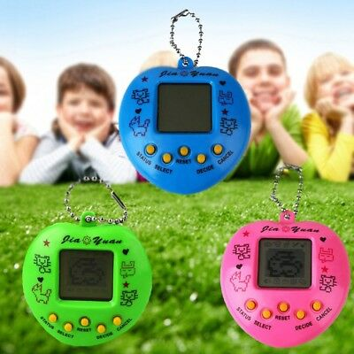 Virtual Cyber Digital Tamagotchi Pets Electronic Toy Handheld Fun Game Kids Gift