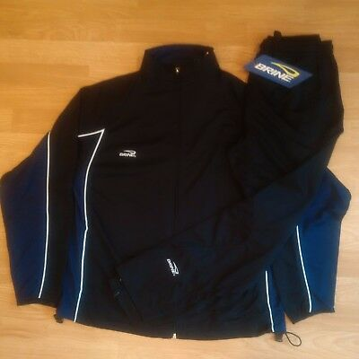BRINE Men's Warm Up/Training Suit - Black/Navy -XX Large - NEW