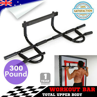 Portable Chin Up Workout Bar Home Door Pull Up Abs Exercise chinup Fitness HOT