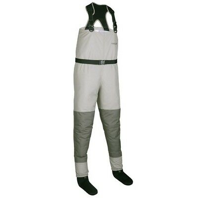 Allen 18165 Men's Tan/Gray Platte Pro Breathable Stockingfoot Wader - XXL