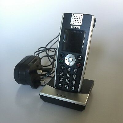 Snom M9 SIP VoIP Cordless Phone with Power Supply Fast Free Delivery