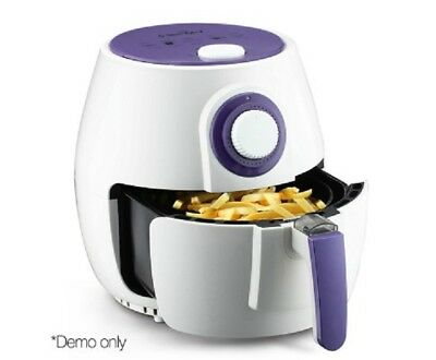 New 2.6L 1300W Air Fryer White Healthy Low Cooker Fast Frying Hot Free Shipping