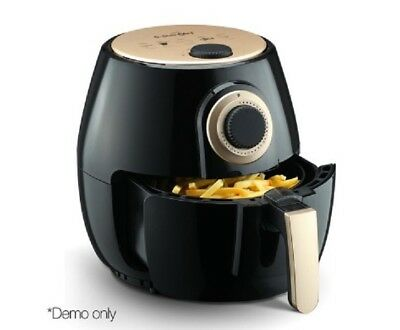 New 2.6L 1300W Air Fryer Black Healthy Low Cooker Fast Frying Hot Free Postage