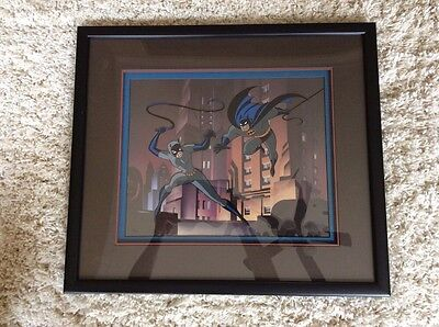 Batman - The Cat And The Claw Limited Edition Cel