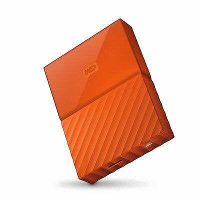 WD 1TB My Passport USB 3.0 Portable Storage External Hard Drive 2017 Orange MH