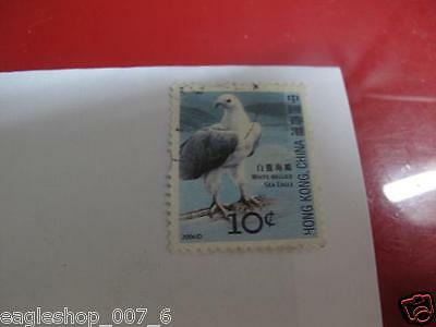 Preowned Used Hong Kong Post Office 10Cent Bird Stamp Free Shipping Promotion