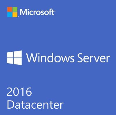 Windows Server Data Center 2016 License Key Unlimited Hyper-V VMs +Download Link