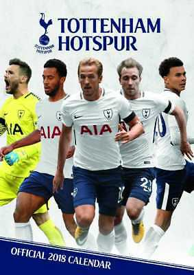 Tottenham Hotspur Football Club Official 2018 A3 Wall Calendar Calender THFC