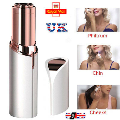 UK Hot Flawless Skin Women New Painless Hair Remover Face Facial Finishing Touch