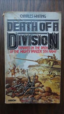 Death of a Division, Charles Whiting - 1979 Arrow  paperback