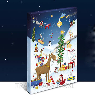 ikea adventskalender weihnachtskalender mit pralinen kalender weihnachten 2017 eur 8 99. Black Bedroom Furniture Sets. Home Design Ideas