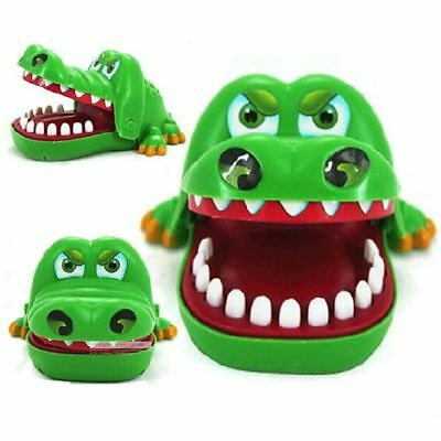 Kids Boy Children Cute Gifts Crocodile Mouth Dentist Bite Finger Game Funny Toys