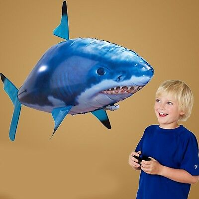 AirFish Remote Control Air Swimming Fish Flying Shark Helium Balloon Christmas