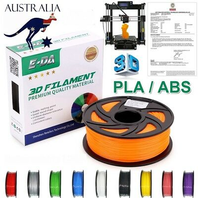 Super Long 400M 340M PLA ABS 1KG Net Weight 3D Printer Filament 1.75MM Drawing D
