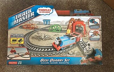 Fisher Price Thomas And Friends Trackmaster - Busy Quarry Set - BNIB